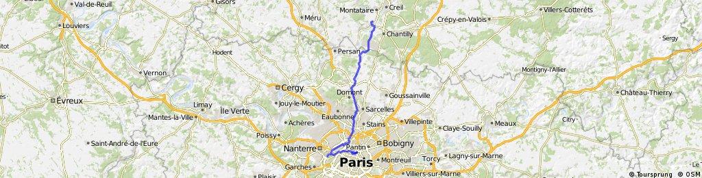 Paris to Amsterdam