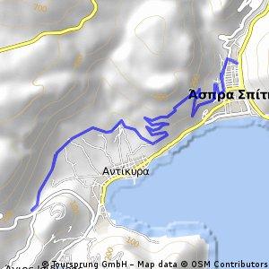 Trail running_path 1-Antikyra-Paralia Distomou