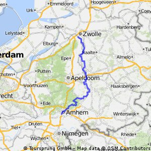 Cycling routes and bike maps in and around Hattem Bikemap Your