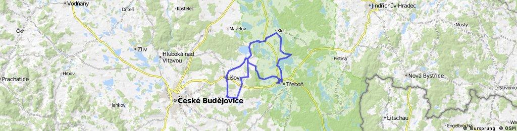 Long ride through Třeboň