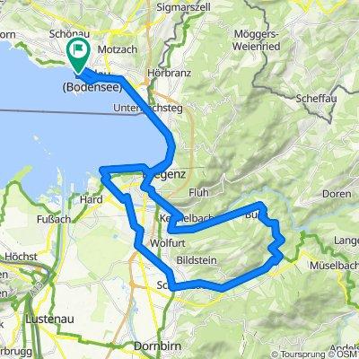 Tour 2 mit Berg