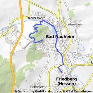 Radrunde von Friedberg (Hessen) nach Bad Nauheim