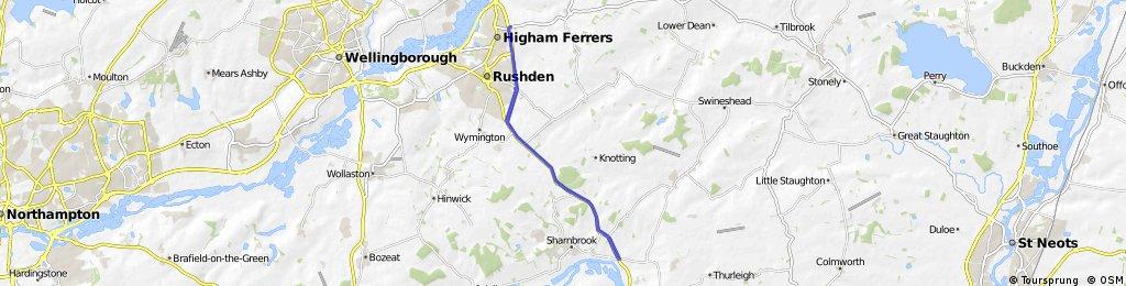 A6 bypass Rushden/Sharnbrook - 25m