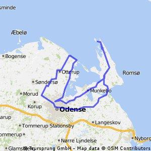 Munkebo-Korshavn-Kerteminde-Odense-Hasmark
