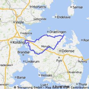Odense Nord 145km