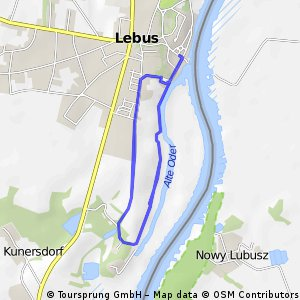 Rundfahrt bei Lebus