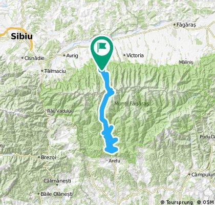Cirțișoara - Bâlea Cascadă - Bâlea Lac - Vidraru Baraj și retur Cârțișoara