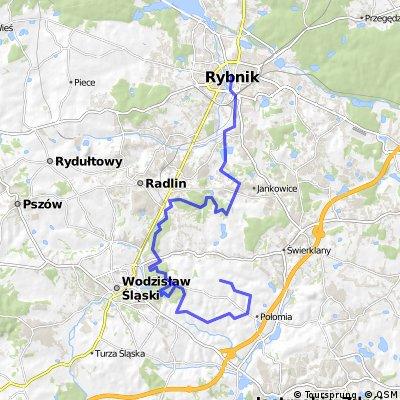 Rybnik - Marklowice (Balaton) 31km