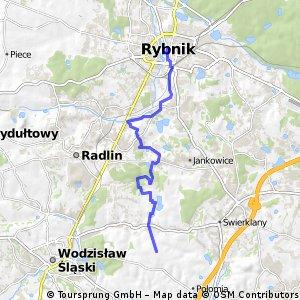 Marklowice - Rybnik (2) 16km płasko