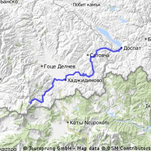 Slavianka - Dospat Tour 2016