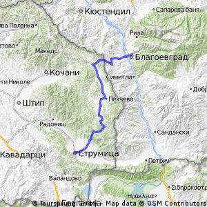 Blagoevgrad - Strumica Tour 2016