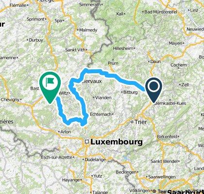 Personal TDF stage 3 Wittlich-Bastogne