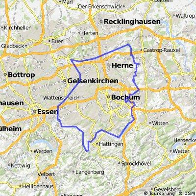 Rund um Bochum und Herne