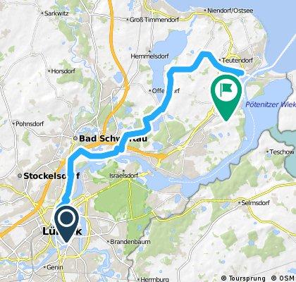 Radrunde durch Lübeck