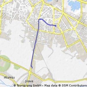 Short bike tour through Bucharest