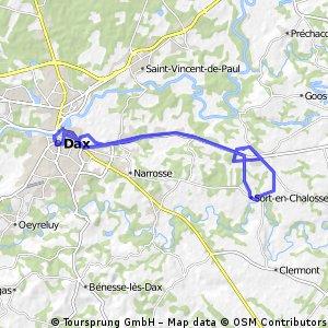 Lengthy bike tour through Hinx