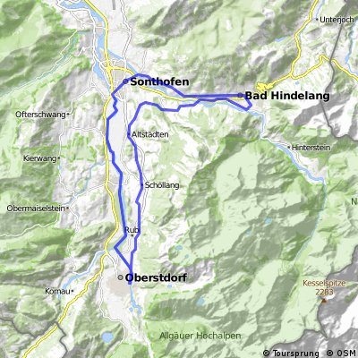 42km-Oberstdorf-Hindelang