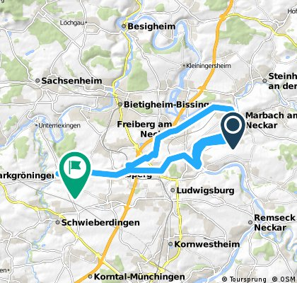 Neckarufer marbach/N