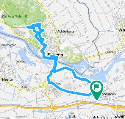 ride through Opheusden