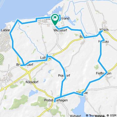 Strohfiguren-Route Nord 2016