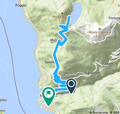 Ausfahrt durch Maccagno con Pino e Veddasca