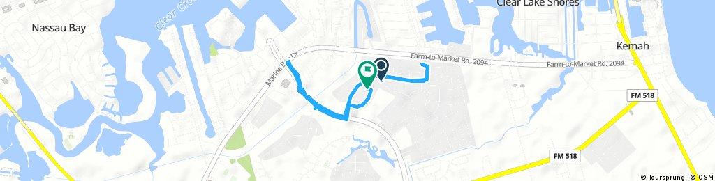 Brief bike tour through League City