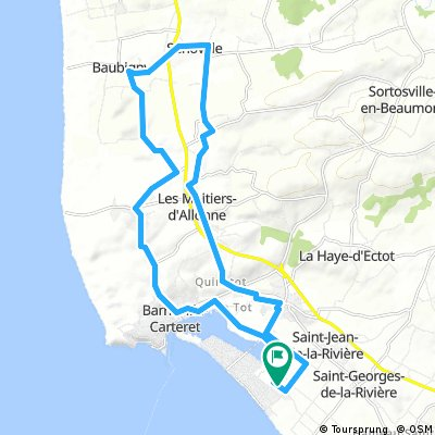 Frankrijk Route noord