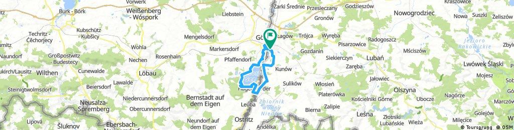 Zgorzelec-Berzdorfer see-38 km