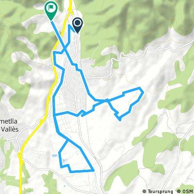 Sunday ride from Pastviny to la Garriga