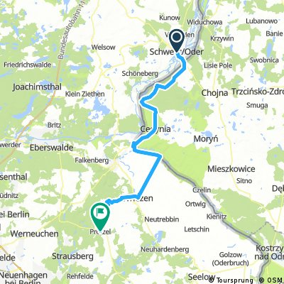 2016 September Schwedt - Oder - Polen - Wriezen - Haselberg - Prötzel