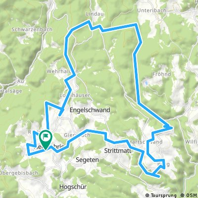 MTB Herrischried 2016 40 km