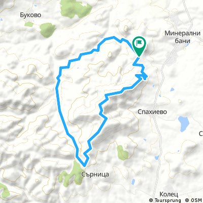 Velo Haskovo bike tour through Mineralni Bani