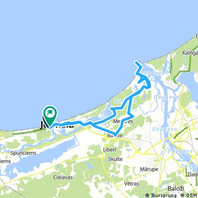 Long ride through Jūrmala