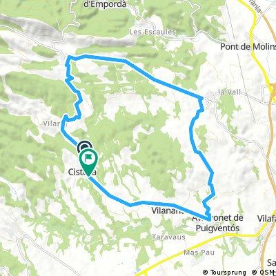 cistella 24 km rondje