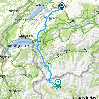 Bern-Aosta