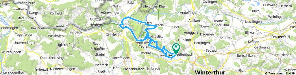 Irchel Trail Flaach Eglisau Teufen