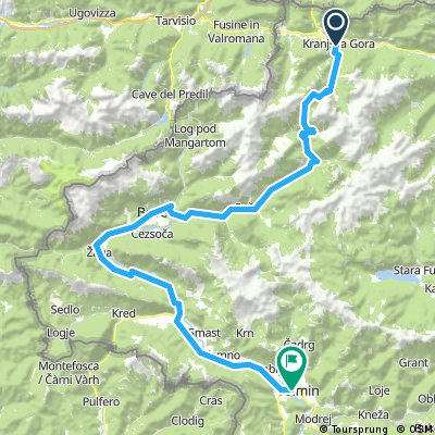Julijska tura - Kranjska gora - Vršič - Tolmin