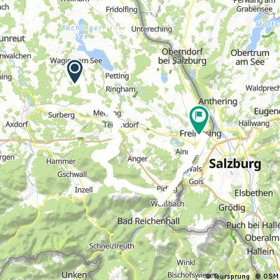 Day2 - SChweizerhof to Freilassing