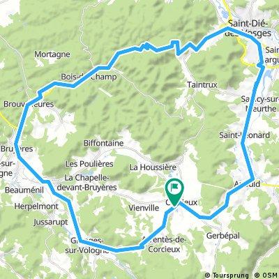 60K/750hm St Die des Vosges