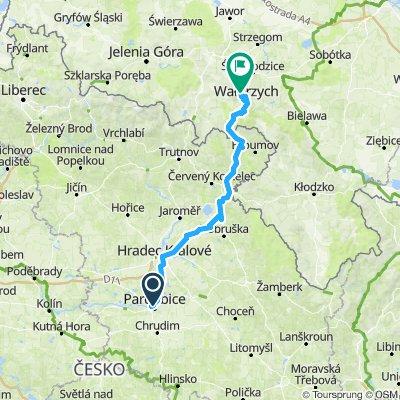 Pardubice - Wałbrzych