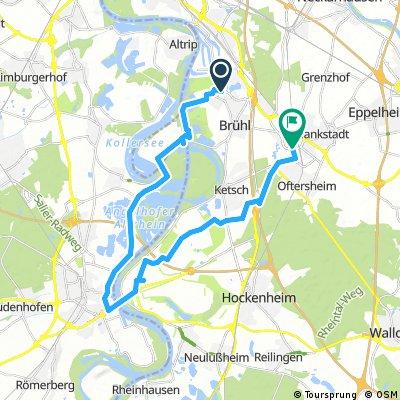 Brühl - Speyer - Schwetzingen