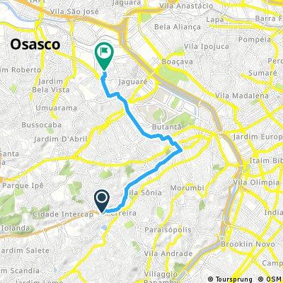 ride from 17h46 18 de julho