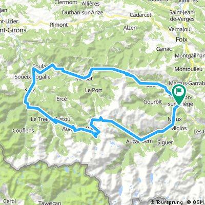 Tarascon - Col du Port - Col de Latrape - Col d'Agnes