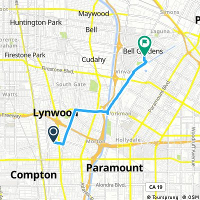 Short ride from Lynwood to Bell Gardens