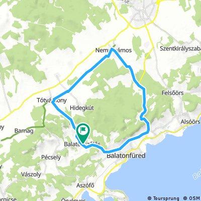 K@tilla - 34 km - Bikefest-elem északi kör