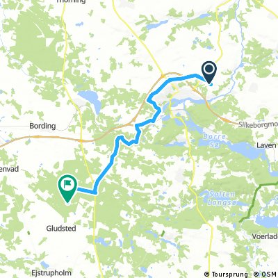 Cycling routes and bike maps in and around Silkeborg | Bikemap ...