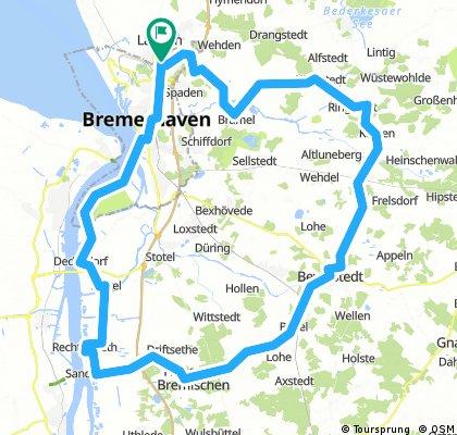 Bremerhaven - Beverstedt - Hagen