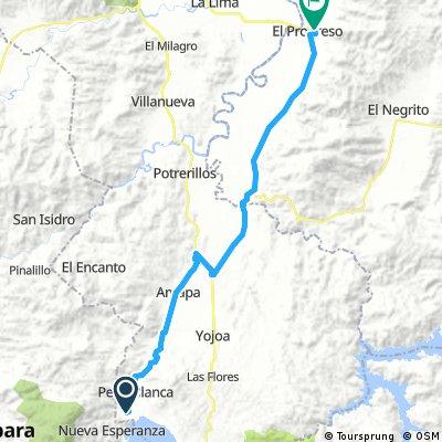 route 39 Los naranjos- El progresso
