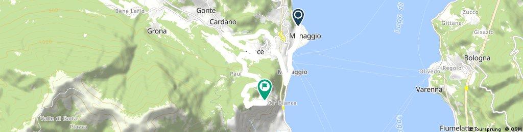 Menaggio - Sasso San Martino (via Croce)