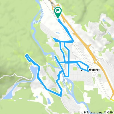 Canmore to Nordic Centre